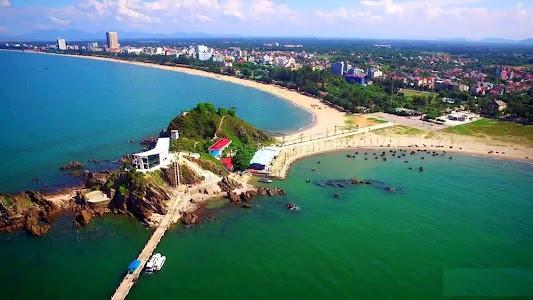 Đảo Lan Châu nhìn từ trên cao