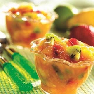 Mixed Fruit Slushies