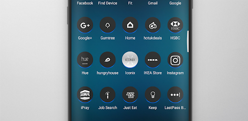 ICONIX - Icon Pack Aplicaciones para Android screenshot