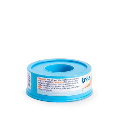 Adhesivo Rela Microporoso Color Blanco 1,2 Cm X 4,5 M