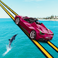 99% Sky Car Racing - Impossible Track Drive Stunt