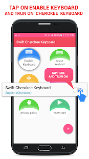Swift Cherokee Keyboard - náhled
