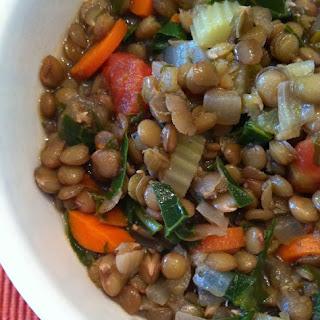 Herbed Lentil Soup