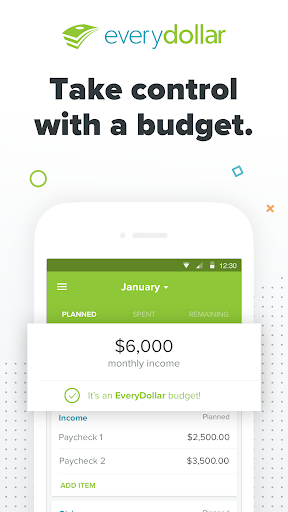 EveryDollar: Budgeting screenshot 1