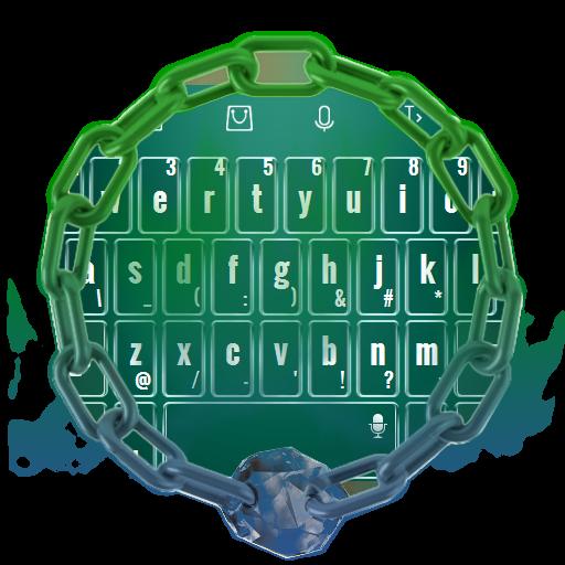 个人化の自然ブルー TouchPal LOGO-記事Game