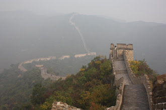 Photo: Day 191 - The Great Wall of China, Snaking Away in the Distance