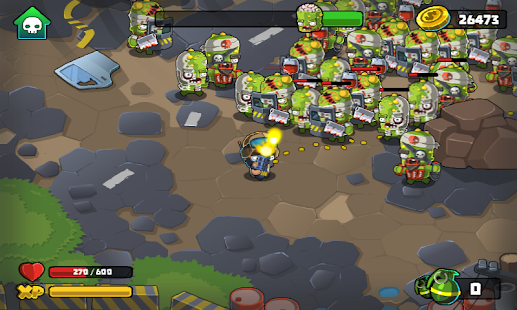 Madness Of Zombies Screenshot