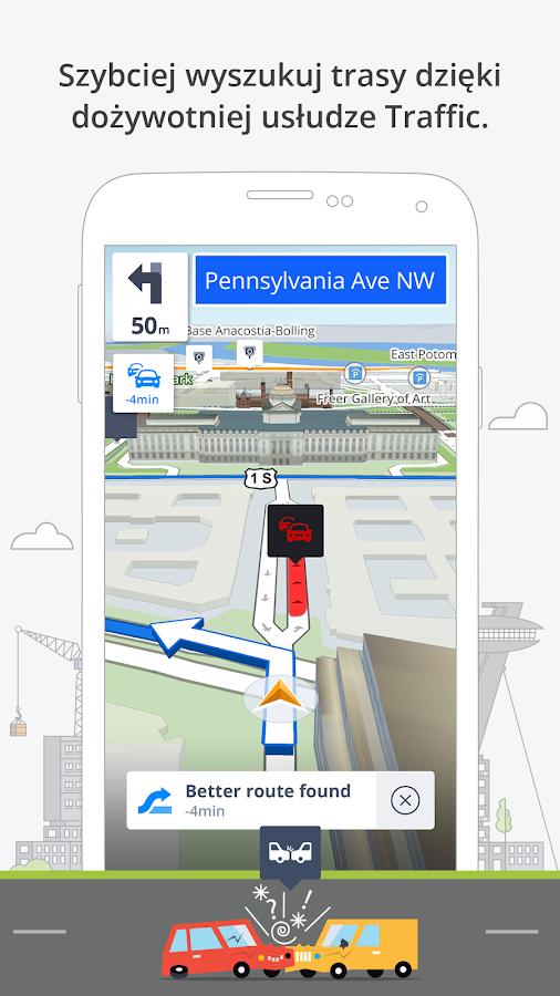 GPS Nawigacja i Mapy Sygic – Aplikacje Android w Google Play