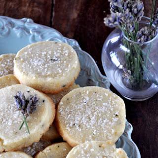 Lavender Shortbread.