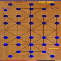 sholo guti(ষোল গুটি)-sixteen beads-tiger trap icon