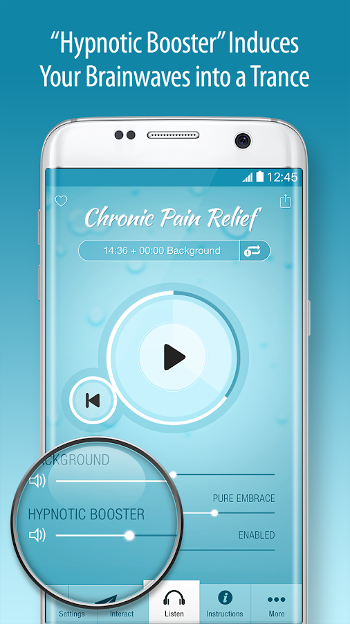 Pain Relief Hypnosis - Chronic Pain Management- screenshot