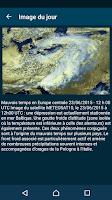 Screenshot of Météo-France