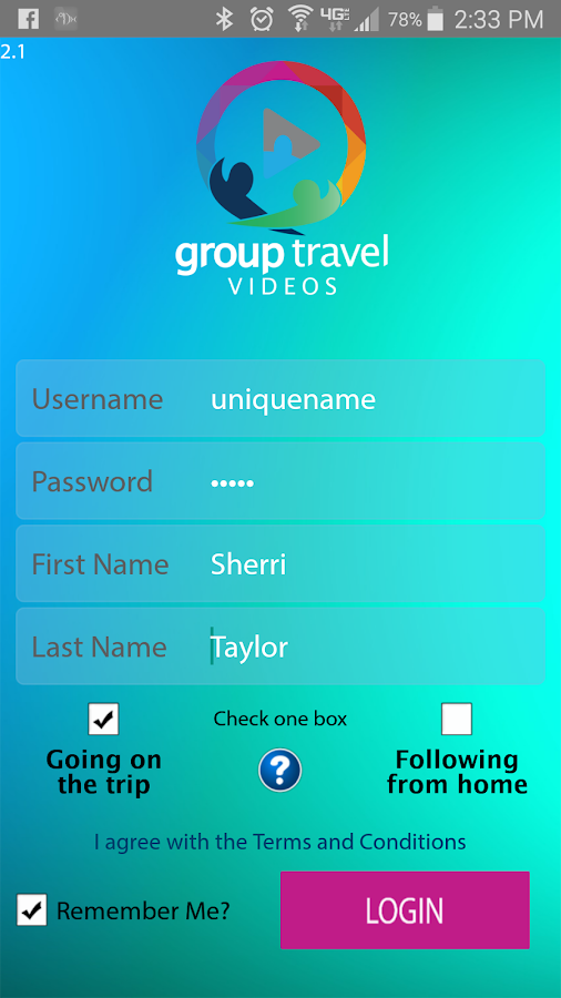 Group Travel Videos- screenshot