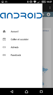 My AndroidConsole - náhled