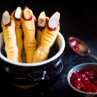 Paleo and Vegan Witch Finger Cookies