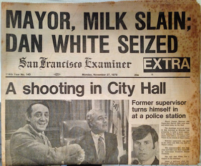 The San Francisco Examiner reports on the assassination.