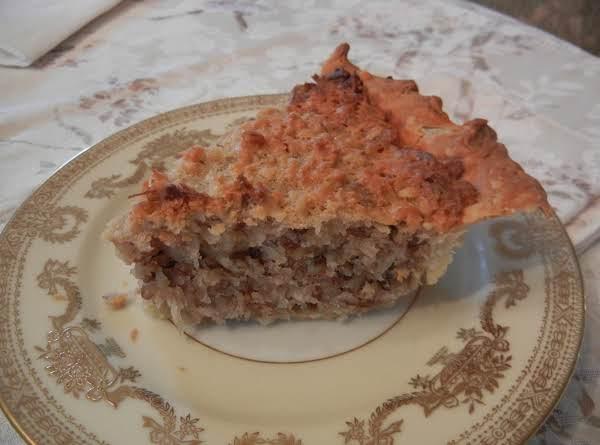 Connie's Coconut Pie