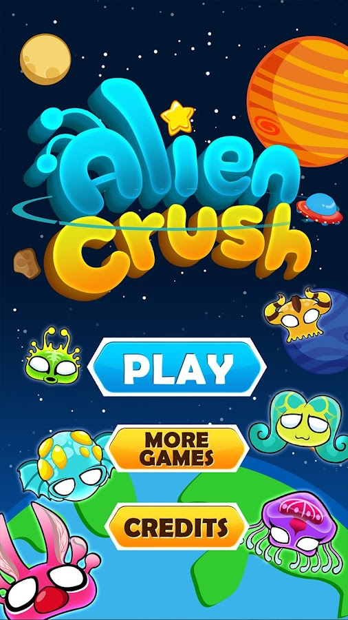 Alien Crush- screenshot