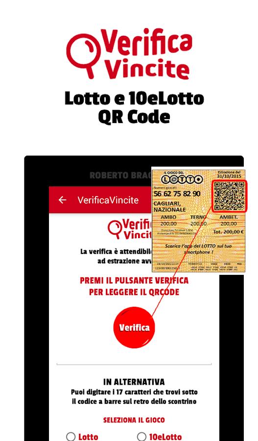 Verificavincite 10elotto lotto superenalotto android for Estrazione del 10elotto ogni 5 minuti