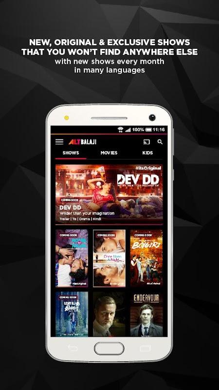Download ALTBalaji APK 2 1 1 by ALT Digital Media Entertainment Ltd
