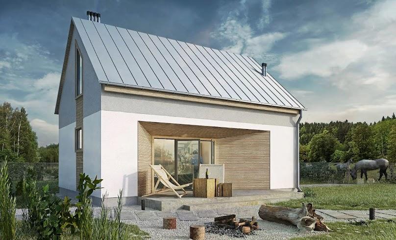 Projekt domu Pilawa 02 całoroczny
