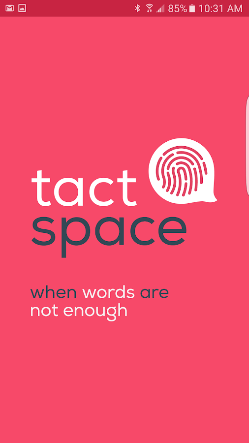 TactSpace- screenshot