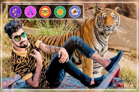 Wild Animal Photo Editor - náhled