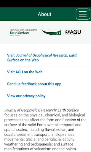 JGR: Earth Surface