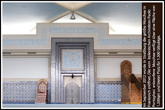 Photo: The word mosque comes from the Arabic word masjid.