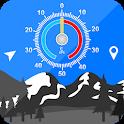 Accurate Altimeter: Measure Elevation & Altitude icon