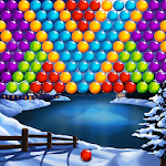 Bubble Shooter Winter Pop Icon
