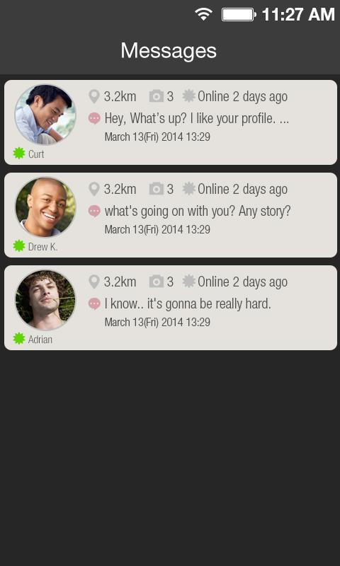 DIGSSO - GAY SOCIAL NETWORK.- screenshot