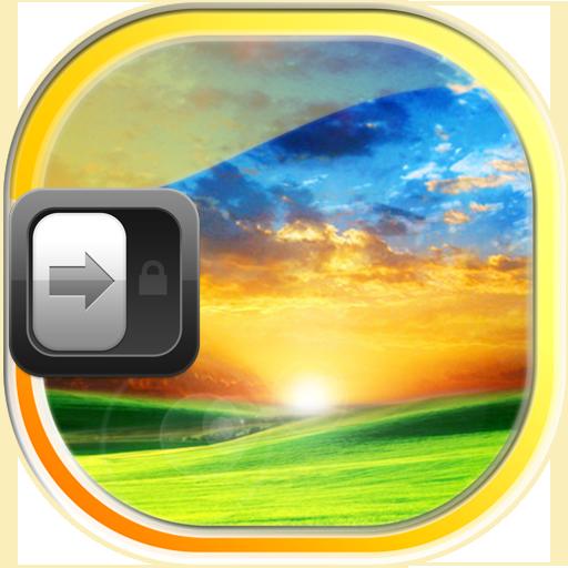 完美的日出 鎖屏界面 個人化 App LOGO-APP試玩