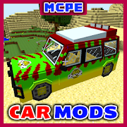 Cars for Minecraft PE Mod