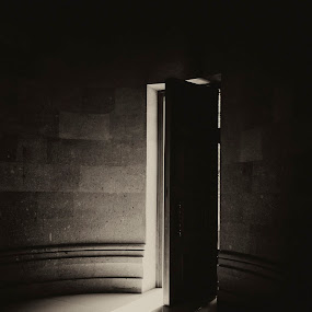 come to me by Amir Kh - Black & White Buildings & Architecture ( church, armenia, black and white, door, nikon, yerevan,  )