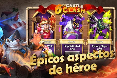 Castle Clash: Epic Empire ES 5