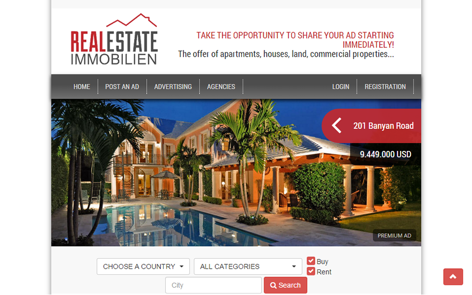 Realestate.Immobilien- screenshot
