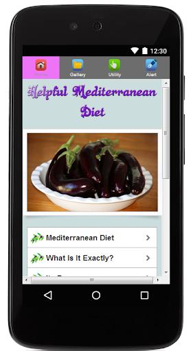 Helpful Mediterranean Diet