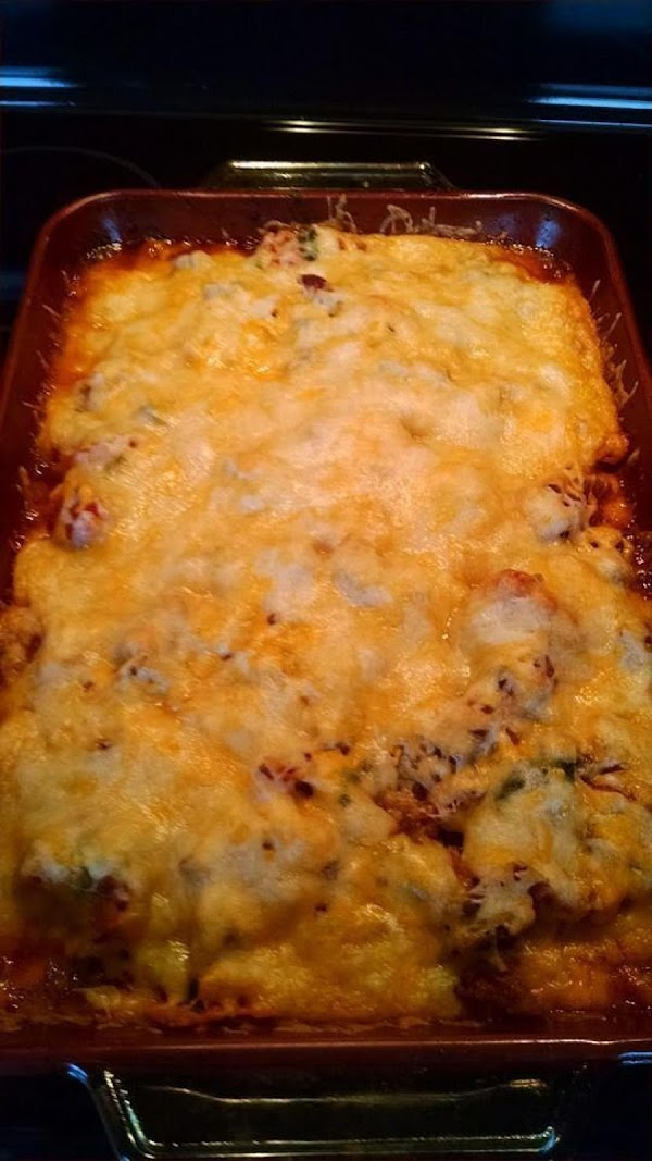 Bake in oven for 25 to 30 minutes