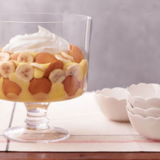 Easy Low-Fat Southern Banana Pudding.