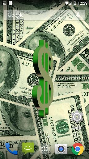 U.S. Dollar Live Wallpaper