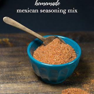 Homemade Mexican Seasoning Mix.