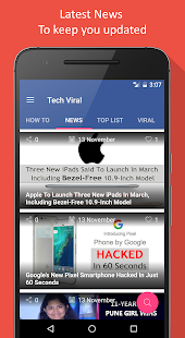 Tech Viral - News & Hacks- screenshot thumbnail