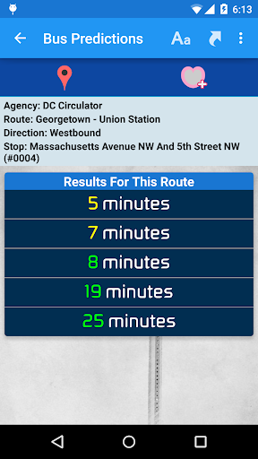 DC Metro Transit Info - Free screenshot 6