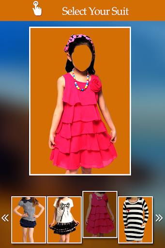 Kids Girl Fashion Photo Suit