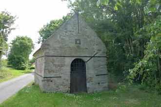 Photo: chapelle St Claude  sur le chemin des pèlerins de St Jacques de Compostelle