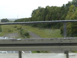 Photo: Das war mal die BAB A 44 bei Jackerath. Deshalb gibt es heute nur noch das Autobahndreieck Jackerath und nicht mehr das Autobahnkreuz Jackerath. Die Autobahn wird noch von den Baggern gefressen!