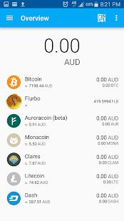 Flurbo / Multicoin Wallet - náhled