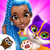 Power Girls Super City - Superhero Salon & Pets Icon