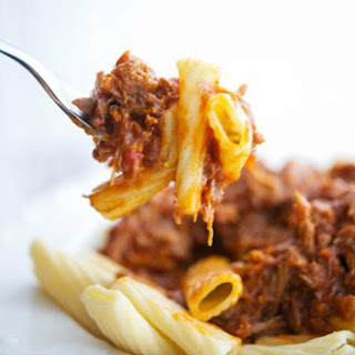 Pork Ragu over Pasta